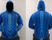 Softshellová bunda – Blue snake